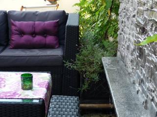 Taras na dachu: styl , w kategorii Taras zaprojektowany przez Chałupko Design