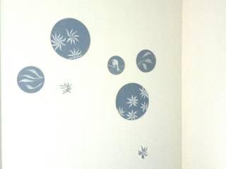Décor mural pour bébé délicat par Bleu d'avril Éclectique