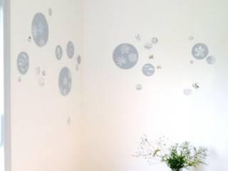Décor mural pour bébé délicat Chambre d'enfant originale par Bleu d'avril Éclectique