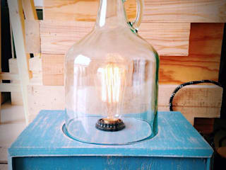 Iluminación:  de estilo industrial por Habanero Mobiliario, Industrial