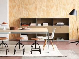 Wohnen mit USM:  Esszimmer von USM Möbelbausysteme