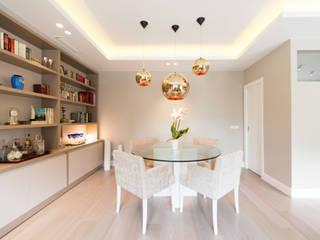 Sala da pranzo in stile in stile Moderno di LF24 Arquitectura Interiorismo