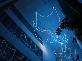 MAASS-Licht Lichtplanung Modern office buildings