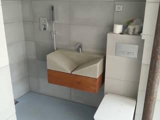 Umywalki betonowe: styl , w kategorii  zaprojektowany przez Stańczyk Konstrukcje