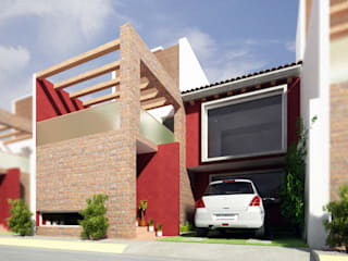 Casa Moralidad Casas modernas de RTstudio Moderno