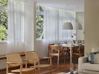 Cerejeira Agência de Arquitetura Ruang Makan Modern