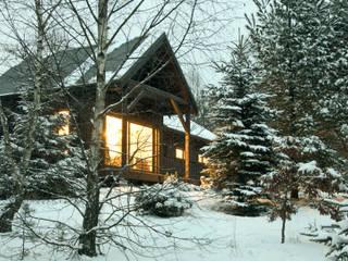 Casas de estilo escandinavo de Magdalena Zawada Escandinavo