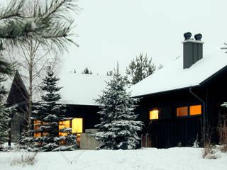 Dom letniskowy na Kaszubach: styl , w kategorii Domy zaprojektowany przez Magdalena Zawada,