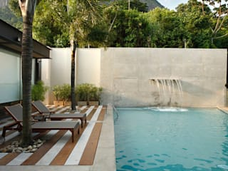 Cerejeira Agência de Arquitetura Balcones y terrazas de estilo moderno