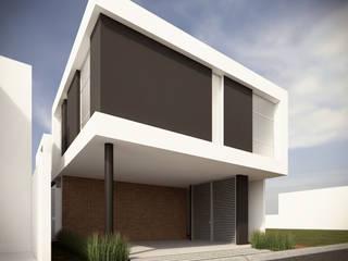 Fachada Principal Opción A: Casas de estilo  por RTstudio