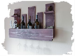 Paletino Dining roomWine racks