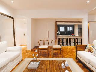 Cerejeira Agência de Arquitetura Modern living room