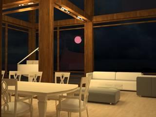 Wohnzimmer von LGorshkaleva, Skandinavisch