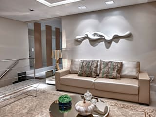 Modern living room by Lucia Navajas -Arquitetura & Interiores Modern