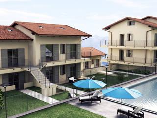 Complesso residenziale ad Argegno (lago di Como) di Arienti Design Mediterraneo