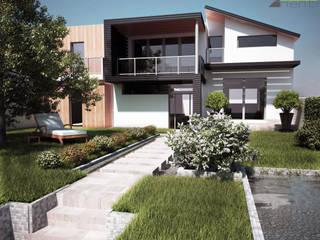 モダンな庭 の Arienti Design モダン