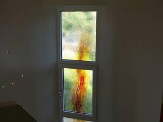 Türen und Flachgläser Magma Glasdesign GmbH Moderner Flur, Diele & Treppenhaus