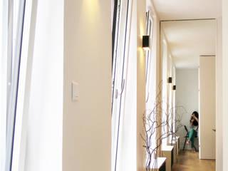 Pied-à-terre Parisien pour 3 dans un 31 m2 Studio Pan Salon moderne