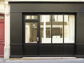 live-work in central Paris Studio Pan Fenêtres & Portes industrielles