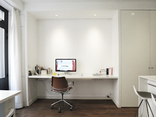 live-work in central Paris Studio Pan Bureau moderne
