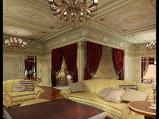 Подмосковная классика Спальня в классическом стиле от Defacto studio Классический