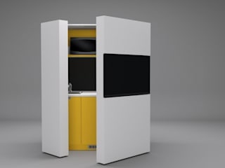 Pop-up kitchen PIA - LTE 3 de Dizzconcept Moderno