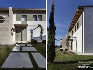 La casa in campagna (Brugnera PN) Case in stile rustico di GRAPHOS_DS Rustico