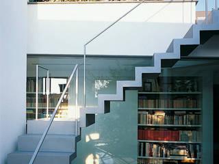 Scala patio-terrazzo: Ingresso & Corridoio in stile  di 8&A Architetti