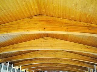 Casas de estilo clásico de CUTECMA Estructuras de madera Clásico