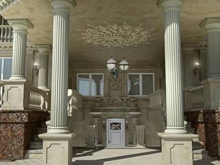 Подмосковная классика Дома в классическом стиле от Defacto studio Классический