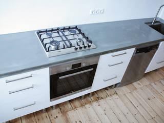 Küchenarbeitsplatten aus Glasfaser - Beton: modern  von Betonwerkstatt,Modern