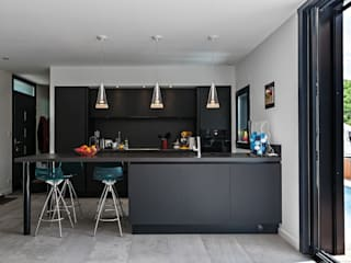 Hugues Tournier Architecte Modern kitchen