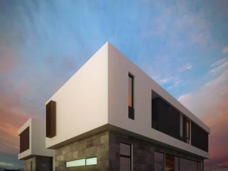 Fachada Lateral: Casas de estilo  por RTstudio