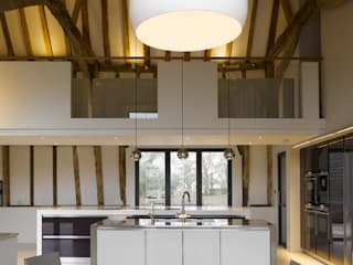 Chantry Farm Cocinas de estilo moderno de Hudson Architects Moderno