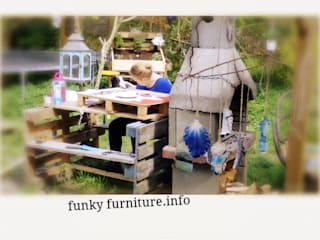 workshop meubel maken van pallets en sloophout:   door Funky furniture