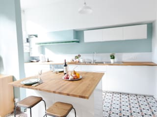 Sarah's Home Cuisine minimaliste par Marie Dumora Minimaliste