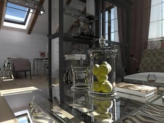 Phòng học/văn phòng phong cách công nghiệp bởi CHM architect Công nghiệp