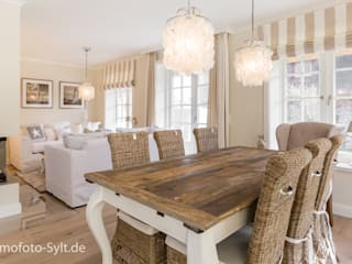 Country style dining room by Immofoto-Sylt Country