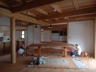 内部工事編 和風デザインの ダイニング の 中村茂史一級建築士事務所 和風