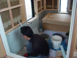 内部工事編 和風の お風呂 の 中村茂史一級建築士事務所 和風