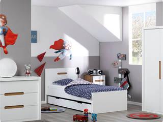 Chambre enfant complète Bow Blanche:  de style  par Ma Chambre d'enfant.com