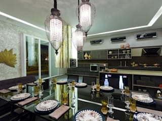 Modern dining room by RABAIOLI I FREITAS Modern