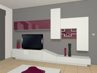 Mueble Salón: Salones de estilo  de ALBERT MUEBLES S.L.