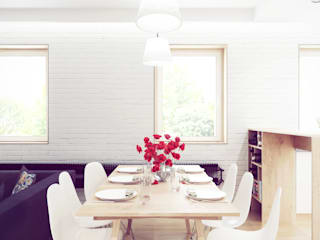 Dining room by COOLDESIGN, Scandinavian