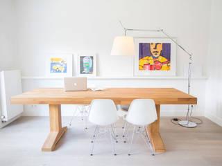 Salle à manger de style  par ontwerpplek, interieurarchitectuur,