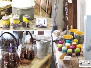 PalettenArt ® - showroom und Ladenwerkstatt Moderne Ladenflächen von PalettenArt Modern