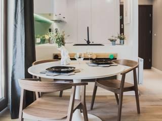 Ruang Makan oleh Raca Architekci, Modern