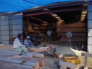 刻み風景1: 中村茂史一級建築士事務所が手掛けた家です。