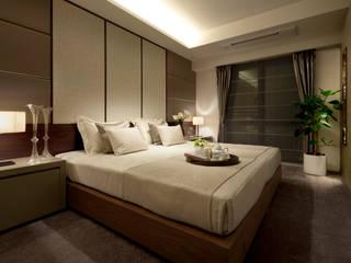 ห้องนอน โดย WORKTECHT CORPORATION, โมเดิร์น