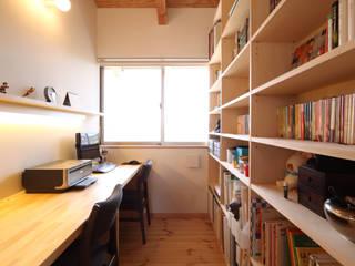 Ruang Studi/Kantor Gaya Asia Oleh 青木昌則建築研究所 Asia